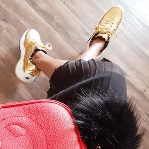 💥💛New Gold Champion Chunky Sneakers💥💛